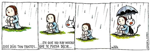 Dias tristes na chuva