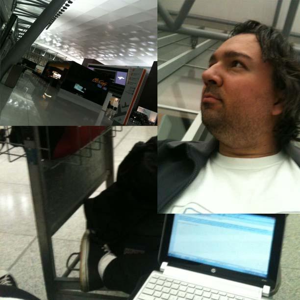 Aeroporto de Carrasco, Montevidéu, em 12 de maio de 2012.